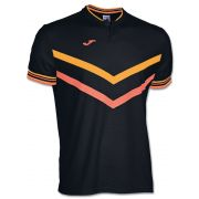 Koszulka z krótkim rękawem Polo Terra Black-Orange